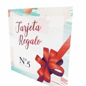 TARJETA REGALO Nº5 NAILS LAB